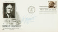 Autographs:Military Figures, James H. Doolittle Signed First Day Cover...