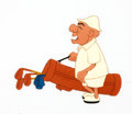Animation Art:Production Cel, Grizzly Golfer Mr. Magoo Production Cel Group (UPA,1951).... (Total: 7 Items)