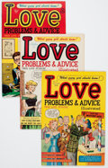 Golden Age (1938-1955):Romance, True Love Problems and Advice Illustrated File Copies Group(Harvey, 1949-58) Condition: Average VF.... (Total: 45 Comic Books)