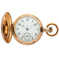 """Timepieces:Pocket (pre 1900) , Seth Thomas """"Earle"""" Rare Early 18 Size Hunters Case. ..."""