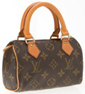 "Luxury Accessories:Accessories, Louis Vuitton Classic Monogram Canvas PM Speedy. Good to VeryGood Condition. 5.5"" Width x 4"" Height x 3"" Depth. ..."