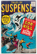 Silver Age (1956-1969):Horror, Tales of Suspense #12 (Marvel, 1960) Condition: FN....