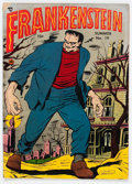 Golden Age (1938-1955):Horror, Frankenstein Comics #19 (Prize, 1952) Condition: VG+....