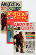Silver Age (1956-1969):Science Fiction, Amazing Adult Fantasy/Amazing Adventures Group (Marvel, 1961-62)Condition: Average VG.... (Total: 6 Comic Books)