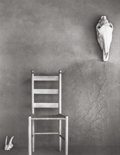 Photographs, TODD WEBB (American, 1905-2000). Chair (New Mexico), 1961. Early gelatin silver. 13-3/8 x 10-3/8 inches (34.0 x 26.4 cm)...
