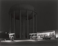 GEORGE A. TICE (American, b. 1938) Petit's Mobil Station, Cherry Hill, New Jersey, 1974 Gelatin silv