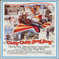 "Movie Posters:Fantasy, Chitty Chitty Bang Bang (United Artists, 1969). Six Sheet (79"" X 80""). Fantasy.. ..."