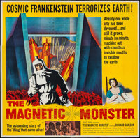 "The Magnetic Monster (United Artists, 1953). Six Sheet (79"" X 80""). Science Fiction"