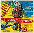 "Movie Posters:Science Fiction, Riders to the Stars (United Artists, 1954). Six Sheet (79"" X 80""). Science Fiction.. ..."