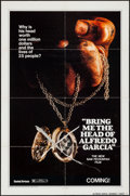 "Movie Posters:Crime, Bring Me the Head of Alfredo Garcia (United Artists, 1974). OneSheet (27"" X 41"") & Lobby Card Set of 8 (11"" X 14"") Advance ...(Total: 9 Items)"