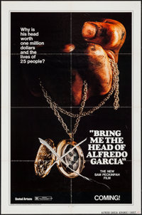 "Bring Me the Head of Alfredo Garcia (United Artists, 1974). One Sheet (27"" X 41"") & Lobby Card Set of 8 (1..."