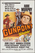 "Gunpoint (Universal, 1966). One Sheet (27"" X 41""), Lobby Card Set of 8 (11"" X 14""), and Uncut Pressb..."