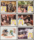 "Movie Posters:War, The Guns of Navarone (Columbia, 1961). Title Lobby Card, LobbyCards (5) (11"" X 14""), Uncut Pressbook (14 Pages, 14"" X 15.25...(Total: 9 Items)"
