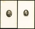 Miscellaneous:Other, Nineteen Presidential Portrait Cards and One Vignette Card.. ...(Total: 20 vignettes)