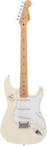 Music Memorabilia:Autographs and Signed Items, Eric Clapton Signed Guitar....