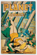 Golden Age (1938-1955):Science Fiction, Planet Comics #53 (Fiction House, 1948) Condition: VG....