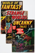 Golden Age (1938-1955):Horror, Atlas Comics Golden and Silver Age Horror Comics Group (Atlas,1951-61) Condition: Average GD.... (Total: 23 Comic Books)