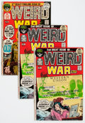 Bronze Age (1970-1979):War, Weird War Tales #2, 4, and 5 Group (DC, 1971-72) Condition: Average VF.... (Total: 4 Comic Books)