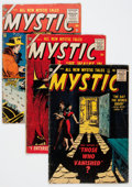 Golden Age (1938-1955):Horror, Mystic Group (Atlas, 1955-57).... (Total: 6 Comic Books)