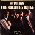 "Music Memorabilia:Recordings, Rolling Stones ""Not Fade Away/ I Wanna Be Your Man"" 45 and RarePicture Sleeve (London 45-LON 9657, 1964)...."