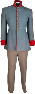 "Movie/TV Memorabilia:Costumes, A Jerry James Period Military Costume from ""Gone With The Wind.""..."