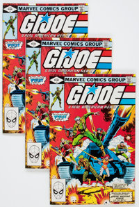 G. I. Joe, A Real American Hero #1 - Multiple Copies Group (Marvel, 1982) Condition: Average VF/NM.... (Total: 37 Comic...
