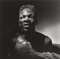 Photographs, Larry Fink (American, 1941). Boxer, 1991. Gelatin silver print. 14-3/4 x 14-3/4 inches (37.5 x 37.5 cm) (image). 19-3/4 ...