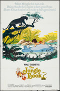 "Movie Posters:Animation, The Jungle Book (Buena Vista, R-1978). One Sheet (27"" X 41""). Animation.. ..."