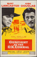 """Movie Posters:Western, Gunfight at the O.K. Corral (Paramount, 1957). One Sheet (27"""" X 41""""). Western.. ..."""