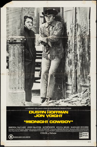 "Midnight Cowboy (United Artists, 1969). One Sheet (27"" X 41"") X-Rated Style. Academy Award Winners"