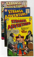 Golden Age (1938-1955):Science Fiction, Strange Adventures #45, 63, and 87 Group (DC, 1954-57) Condition:Average FN-.... (Total: 3 Comic Books)