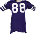 Football Collectibles:Uniforms, Circa 1973-74 Drew Pearson Game Worn Jersey. You'll find few football fans in the Heritage world headquarters of Dallas, Te...
