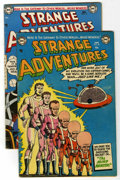 Golden Age (1938-1955):Science Fiction, Strange Adventures #40 and 41 Group (DC, 1954) Condition: AverageVG+.... (Total: 2 Comic Books)