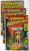 Golden Age (1938-1955):Science Fiction, Strange Adventures #23, 29, and 36 Group (DC, 1952-53) .... (Total:3 Comic Books)