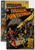 Golden Age (1938-1955):Science Fiction, Strange Adventures #18 and 19 Group (DC, 1952) Condition: AverageVG.... (Total: 2 Comic Books)