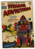 Golden Age (1938-1955):Science Fiction, Strange Adventures #3 (DC, 1950) Condition: VG-....