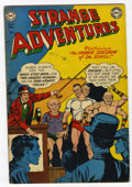 Golden Age (1938-1955):Science Fiction, Strange Adventures #15 (DC, 1951) Condition: VG+....