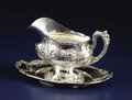 Silver Holloware, American:Sauce Boats, An American Silver Gravy Boat and Tray. Reed & Barton, Taunton,Massachusetts. Designed 1907. Silver. Marks: REED & BART...(Total: 2 Items)