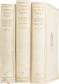 Books:Signed Editions, Rudyard Kipling: Signed Three-Volume Set of Rudyard Kipling'sVerse: Inclusive Edition 1885-1918... (Total: 3 Items)