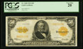 Large Size:Gold Certificates, Fr. 1200 $50 1922 Gold Certificate PCGS Very Fine 20.. ...