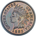Proof Indian Cents, 1883 1C PR65 Brown NGC. CAC....