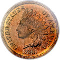 Proof Indian Cents, 1880 1C PR66 Red and Brown PCGS....