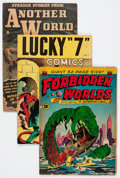 Golden Age (1938-1955):Miscellaneous, Comic Books - Assorted Golden Age Comics Group (Various Publishers, 1946-55) Condition: Average VG-.... (Total: 20 Comic Books)