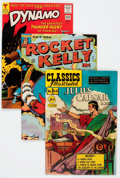 Golden Age (1938-1955):Miscellaneous, Comic Books - Assorted Golden and Silver Age Comics Group (Various Publishers, 1946-66).... (Total: 12 Comic Books)