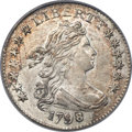 Early Dimes, 1798 10C Small 8, JR-3, R.5, MS64 PCGS. CAC....
