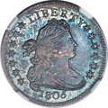 Early Dimes, 1805 10C 4 Berries, JR-2, R.2, MS67 ★ NGC....