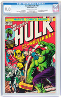 Bronze Age (1970-1979):Superhero, The Incredible Hulk #181 (Marvel, 1974) CGC VF/NM 9.0 Off-white towhite pages....