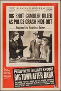 """Movie Posters:Crime, Big Town After Dark (Paramount, 1948). One Sheet (27"""" X 41"""").Crime.. ..."""