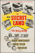 "Movie Posters:Documentary, The Secret Land (MGM, 1948). One Sheet (27"" X 41""). Documentary.. ..."