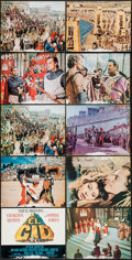 """Movie Posters:Adventure, El Cid (Allied Artists, 1961). Deluxe Lobby Card Set of 10 (11"""" X14""""). Adventure.. ... (Total: 10 Items)"""